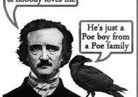 Edgar Allen Poe Meme - unique allan meme i knew about inception before it was cool hipster