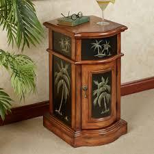 Tree Rugs Kellsie Palm Tree Storage Accent Cabinet