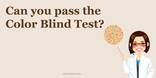 Color Blind Design Are You Able To Pass This Color Blind Test Find Out Below