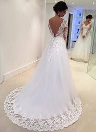 Tumblr Sexy Bride - new style white wedding dress lace long sleeve sexy backless bride