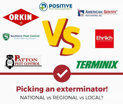 Orkin Bed Bug Spray Orkin Terminix Vs Regional Vs Local Exterminators Pros And Cons