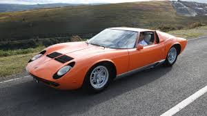 the lamborghini miura from the italian job is up for sale top gear