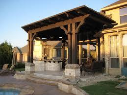 home design attached covered pergola plans farmhouse medium