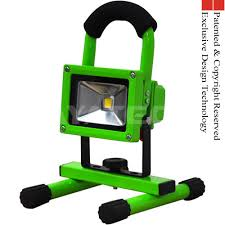 work zone rechargeable led work light green color 10w led work light portable rechargeable from china