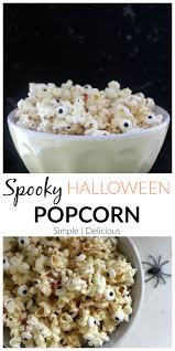 popcorn for halloween spooky halloween popcorn healthy her nourished