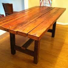 barnwood dining room tables