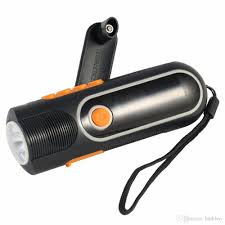 hand crank led light xln 704b high quality rechargeable hand crank led outdoor flashlight