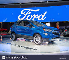 2018 ford ecosport suv at the north american international auto