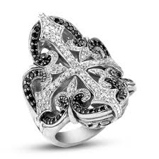 scott kay engagement rings scott kay sterling filigree cross ring with pave white sapphires