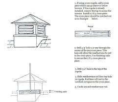 Weathervanes For Cupolas Weathervane And Cupola Assembly Instructions Country Weathervanes