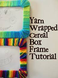 hazel and company yarn wrapped frame tutorial