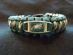 survival bracelet with buckle images Philadelphia eagles custom paracord survival bracelet with buckle jpg