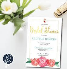 bridal brunch shower invitations bridal shower invitation floral bridal shower invitation
