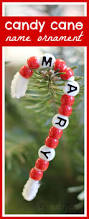name candy cane craft for kids