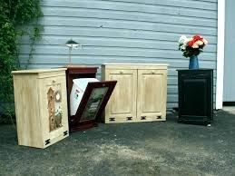 trash can cabinet insert trash can insert can holder cabinet hidden trash can under counter