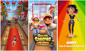 subway surfer mod apk subway surfers san francisco mod apk free unlimited coins