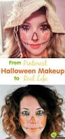 scarecrow halloween makeup 11 best scarecrow images on pinterest scarecrow makeup