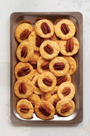 pecan cheese wafers pecans and spicy crackers