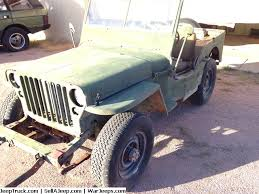 jeep restoration parts used jeeps and jeep parts for sale 1944 ford gpw arizona rust