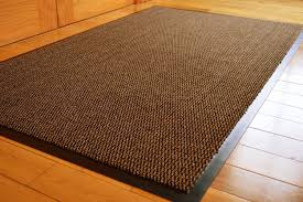 Indoor Outdoor Rugs Uk by Barrier Mat Large Brown Black Door Mat Rubber Backed Medium