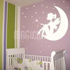 Star Decals For Ceiling by Fairy Little On The Moon Wand And Stars Wall Decals