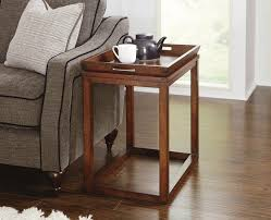 hardwood 10 inch chairside end table black wooden chair side end table home decor furniture
