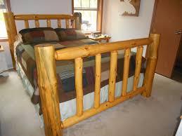 Log Queen Bed Frame Bed Frame Wolter U0027s Woods