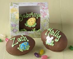 where to buy chocolate eggs get a fudge egg filled with peanut butter personalized with a name