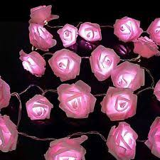 Flower Fairy Lights Fairy Lights EBay - Pink fairy lights for bedroom