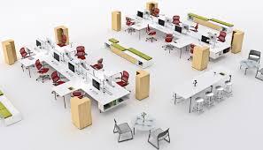 layout ruang rapat yang baik tata ruang kantor terbuka decodeko