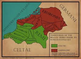 Roman Map Pre Roman Political Map Of Belgica By Heersander On Deviantart