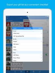 giftplanner christmas list organizer on the app store