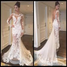 vintage wedding dress see through vintage wedding dresses sleeves sheer scoop