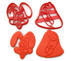 who framed roger rabbit roger and rabbit cookie cutter