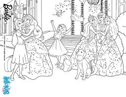 free printable barbie princess charm coloring pages barbie