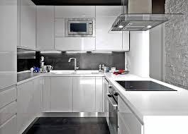 cuisine moderne blanche et cuisine moderne blanc laque la blanche le des cuisines