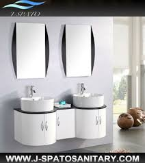 French Vanity Units Hangzhou China French Style White Double Sink Bathroom Vanity