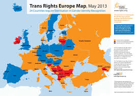 Eurpoe Map Trans Rights Europe Map U0026 Index 2013
