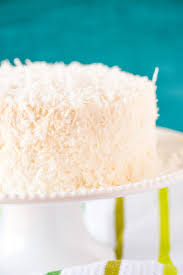 coconut cake with coconut meringue buttercream brown eyed baker