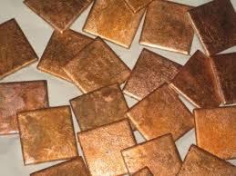 Copper Tile Backsplash For Kitchen - copper tile 4x4 by hub71 on etsy 5 00 home decorating