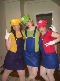 Mario Halloween Costumes Girls 20 Trio Halloween Costumes Ideas Trio