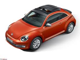 red volkswagen beetle volkswagen beetle launched in india at rs 28 73 lakh team bhp