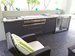 Stainless Steel Bench With Sink At Flatpack Stainless In Nsw Penrith Infresco Manufactures Cabinets Suitable For Outdoor Kitchens We