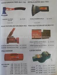 Alat Catok Besi tools peralatan tukang tehnik cur 盪 catok paron alat potong besi