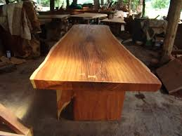 rosewood dining room furniture live edge dining table reclaimed solid slab rosewood
