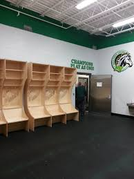 boys hockey locker room mounds view mustangs moundsview high