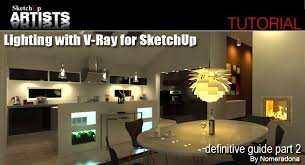 lighting with v ray for sketchup u2013 definitive guide part 2