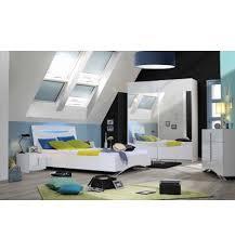chambre 180x200 chambre à coucher lit 180 x 200 cm coloris blanc laqué
