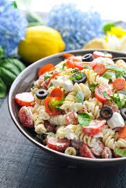 pasta salad with mayo creamy italian pasta salad the seasoned mom