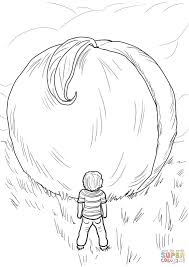 james and the giant peach coloring page free printable coloring
